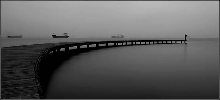 sooty..foggy..misty