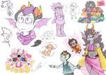 Sea dweller doodles