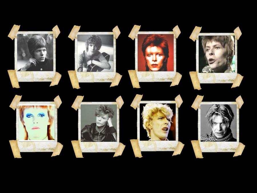 Faces David Bowie Wallpaper by Radioheadedlove