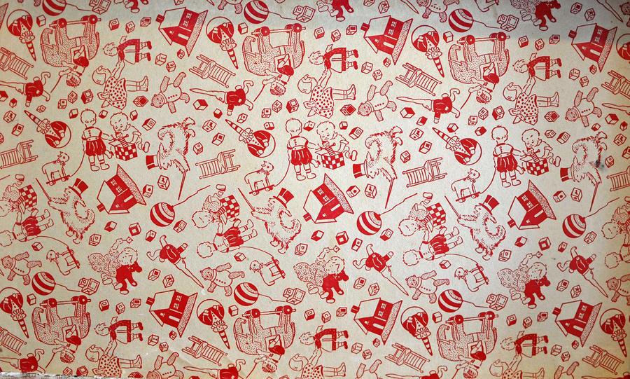 vintage toy box pattern by hennatea on DeviantArt