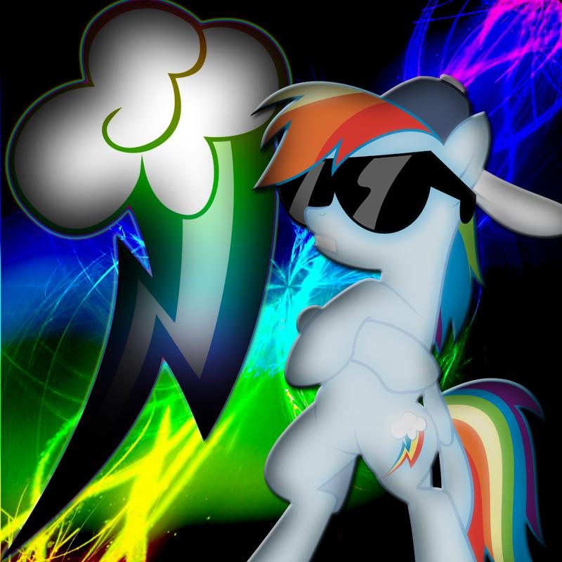 Radical Rainbow Dash by TygerxL