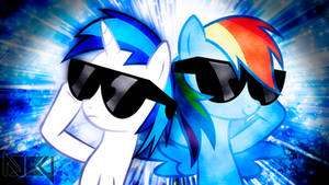 Dash and Scratch Wallpaper