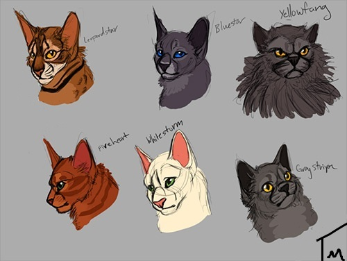 Yellowfang And Fireheart Warrior Cats by timdra...