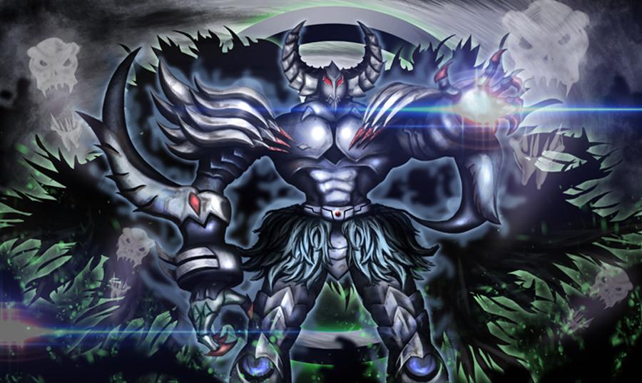 Caius The Mega Monarch Playmat Design By Kurosakikeroro On