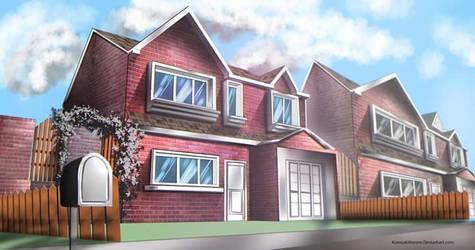 Background art : The House 1 by KurosakiKeroro
