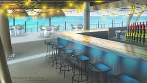 Tiki Bar - Morning time