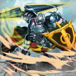 Silver Armour Minotour