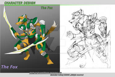 Character Design : The Fox