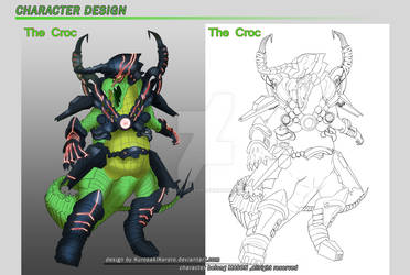 Character Design : The Croc