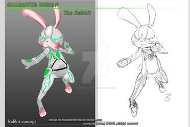 Character Design : The Rabbit
