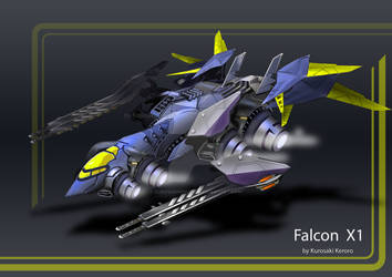 Falcon space fighter