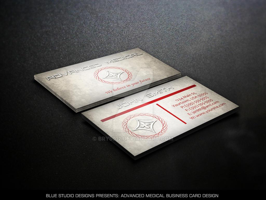 Advanced Medical Business Card Design by bry5012 on DeviantArt