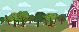 Sweet Apple Acres Background