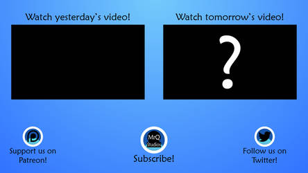 Outro Screen for YouTube
