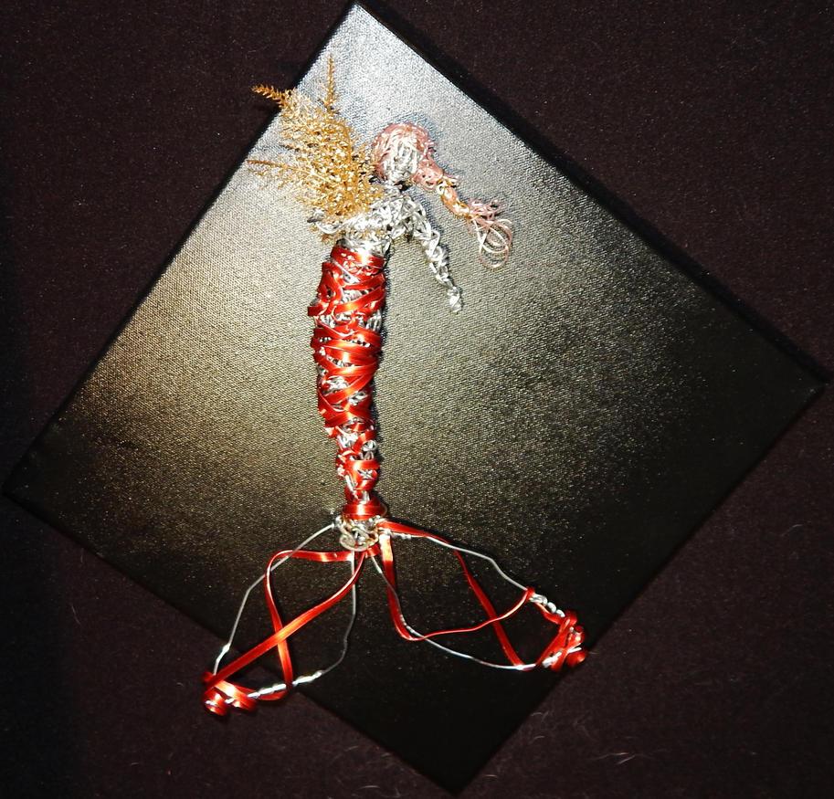 Framed Mermaid for Theater Art Show by metalpug