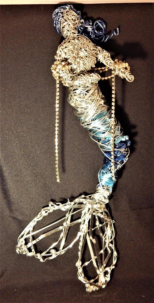 Blue Shades Mermaid by metalpug