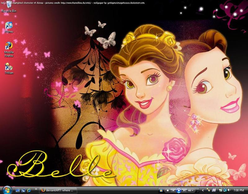Belle Wallpaper By OtherworldlyDreams