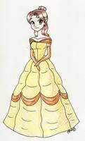 Anime-ish Belle
