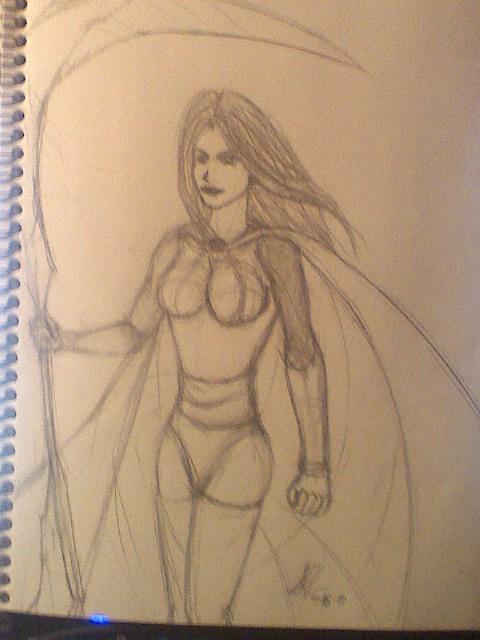 Deadly Damsel sketch by leo-darkheart