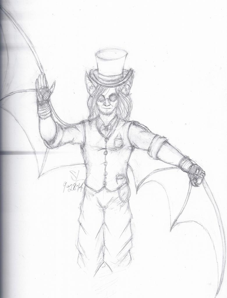 Revised Victorian Batboy by leo-darkheart