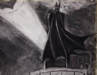 Gotham Guardian in progress by leo-darkheart