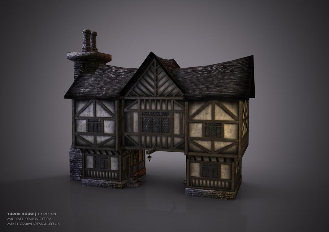 Tudor house by mikey-star