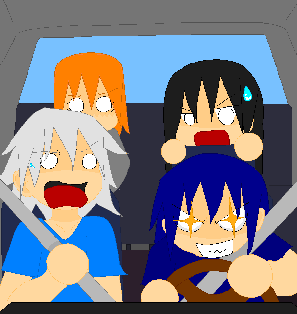 Ronan's Driving Skill by NatsumeHirai