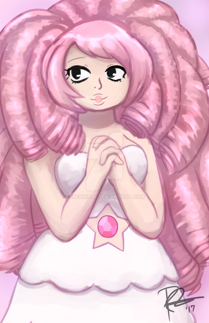 Rose Quartz by Exekiella