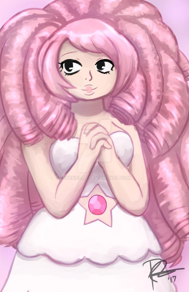 Rose Quartz by Exekiella