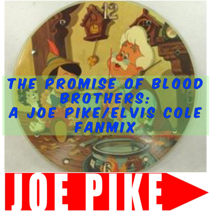 Joe Pike/Elvis Cole Fanmix Front Cover by girlinventor