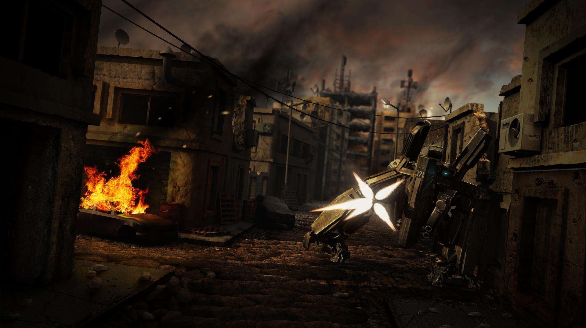 Exoskeleton - Street patrol by Etch06