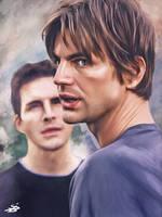 Brian and Mikle. Queer as Folk. by MrLizaveta