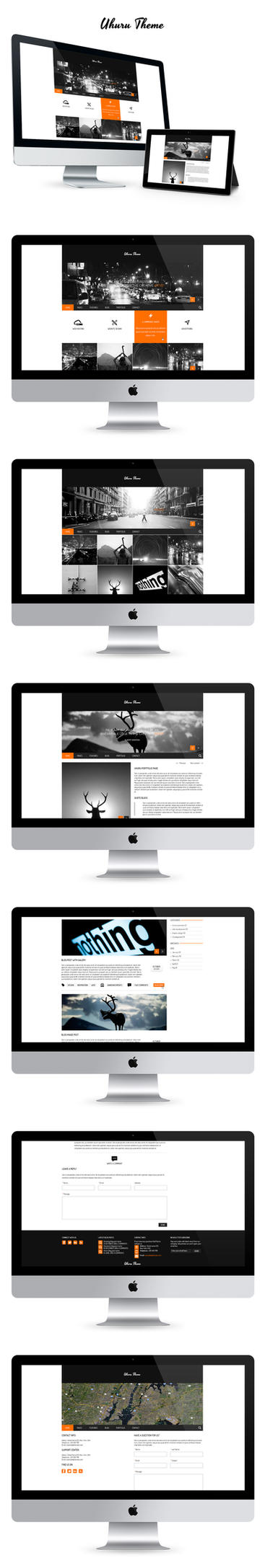 Uhuru Theme by design-mania