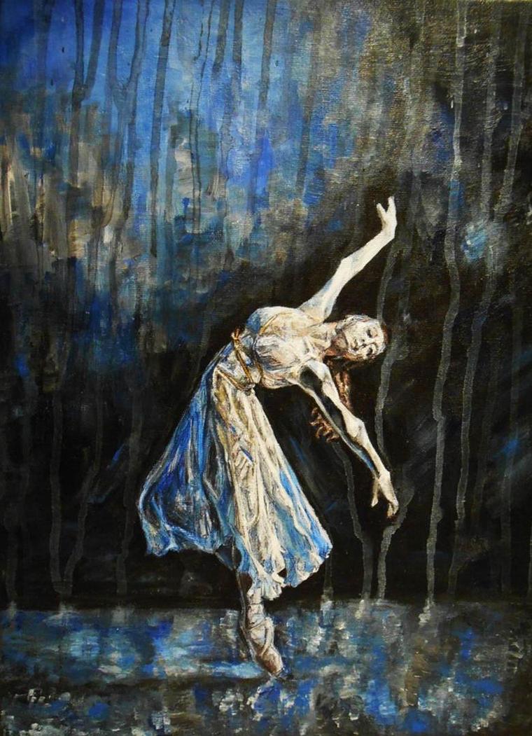 Dancing in the rain by ArtByFern