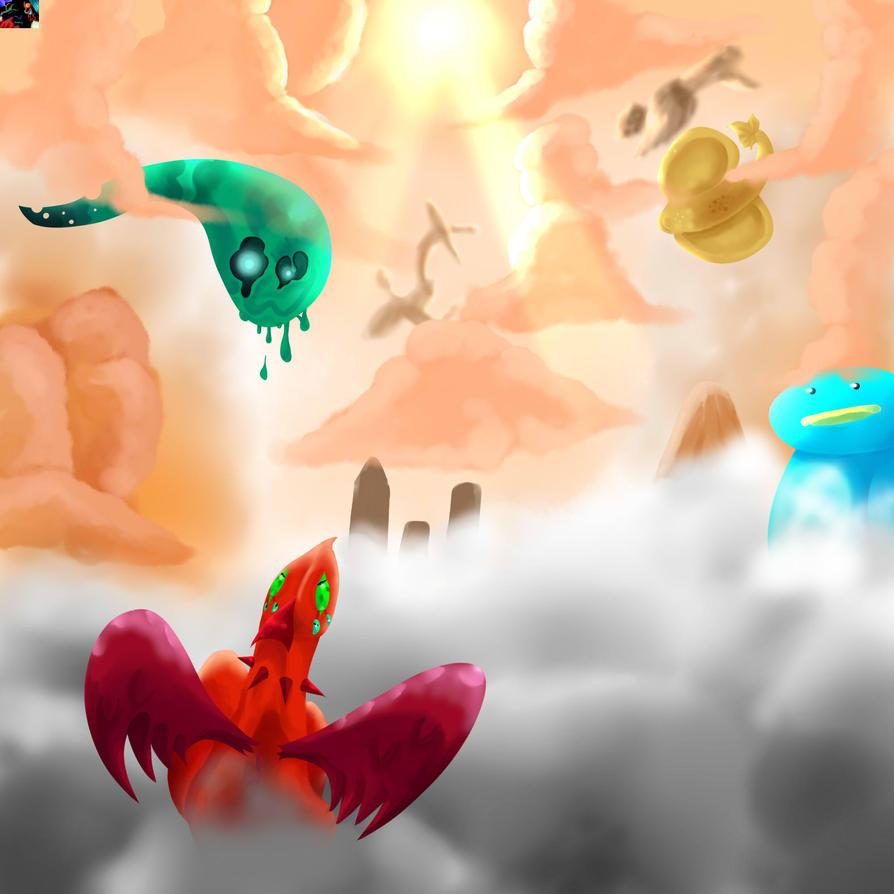 Alone in the Sky by GameGirlAS9990