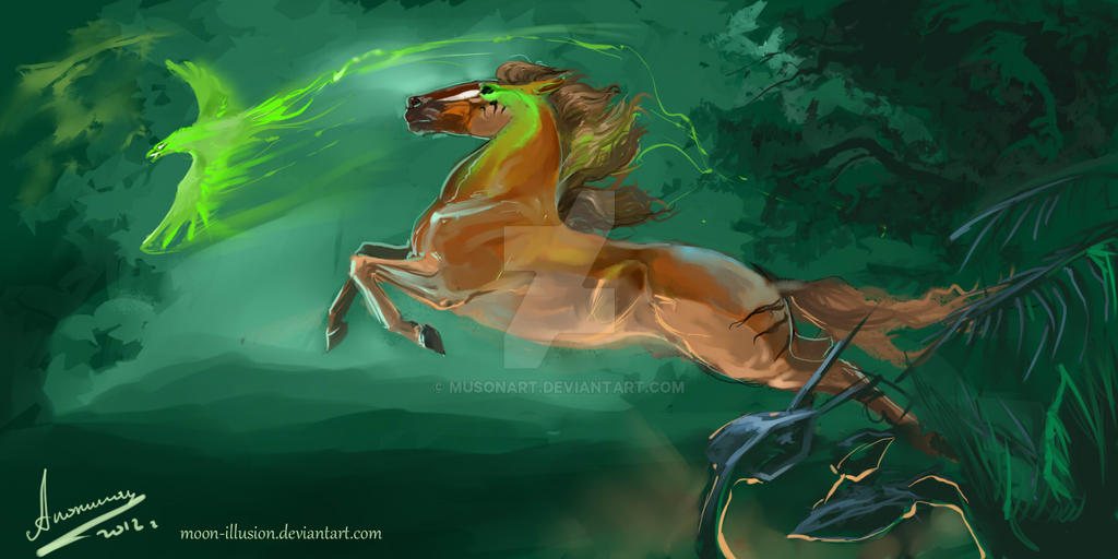Bet on the Green Eagle by Moon-illusion