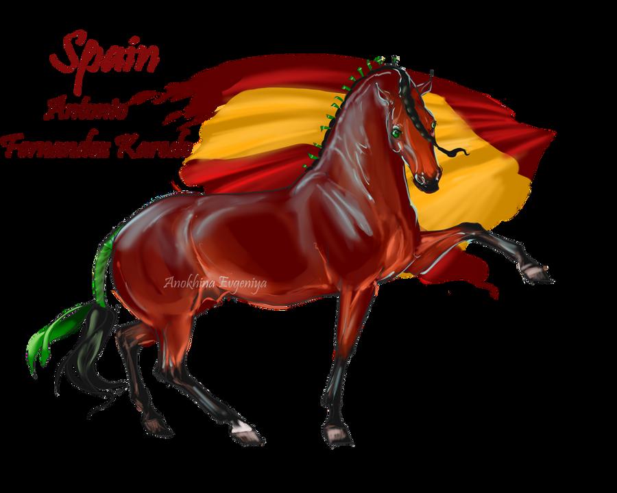 Horse Hetalia Spain By Moon Illusion On DeviantArt