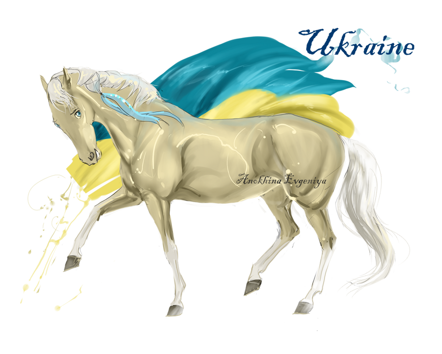 Horse Hetalia: Ukraine by Moon-illusion