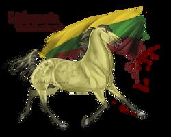 Horse Hetalia: Lithuania by MUSONART