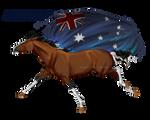 Horse Hetalia:  Australia