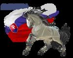 Horse Hetalia:  Slovakia
