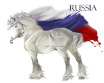 Horse Hetalia:  Russia