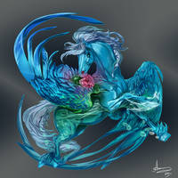 Blue Bird by MUSONART