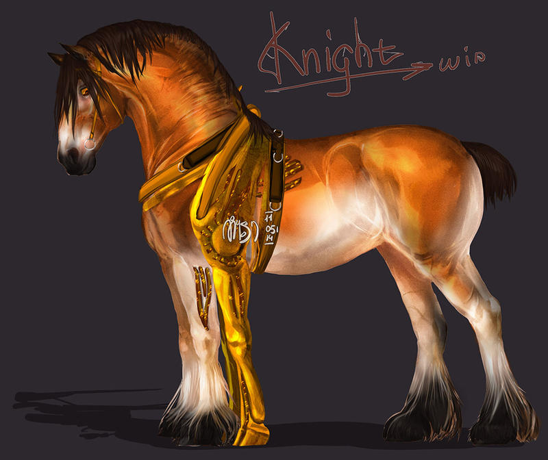 Knight by MUSONART