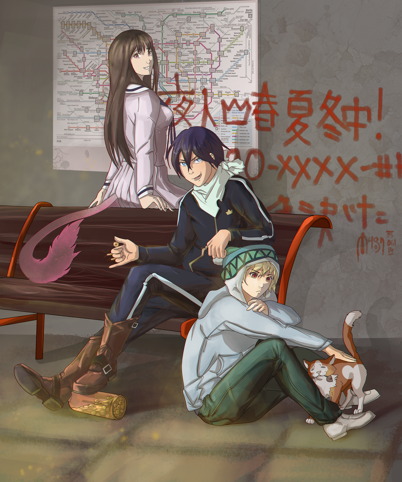 Noragami by MUSONART