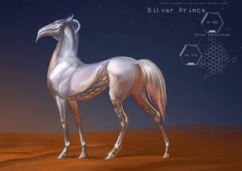 Silver Prince by MUSONART