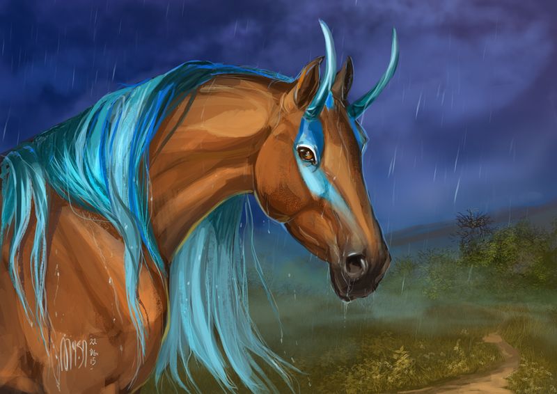 | Comission | Rainy evening by MUSONART