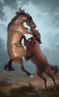 Fight by MUSONART