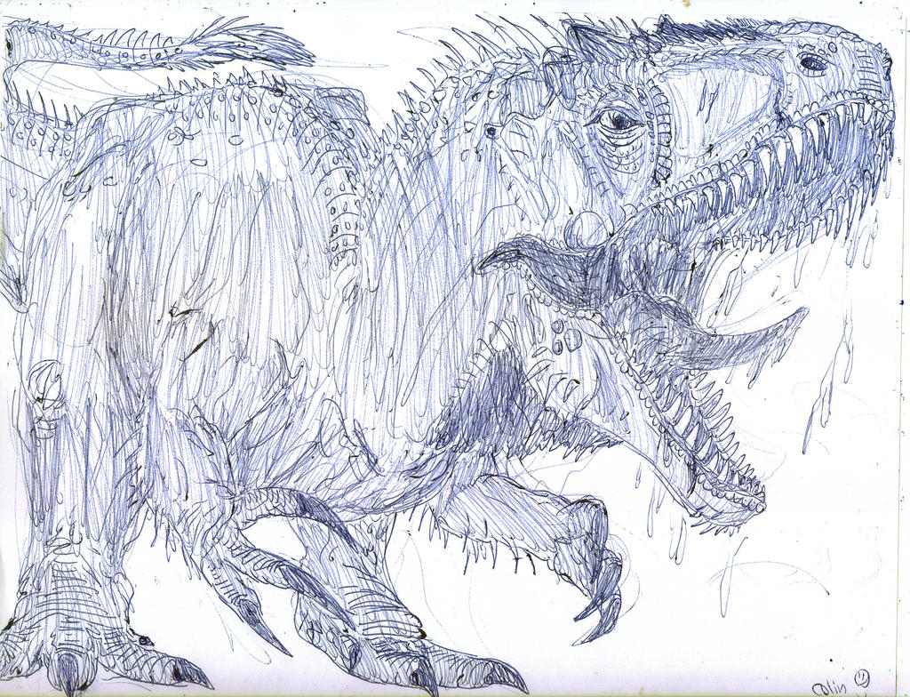 indominus rex jurassic world coloring pages - photo #28