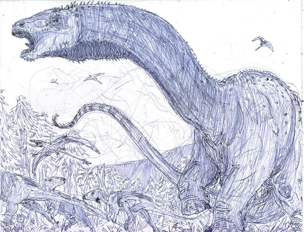 BRONTOSAURUS IS BACK!!! by MickeyRayRex on DeviantArt
